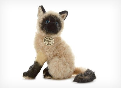 Hallmark My Best Friend Large Siamese Cat Plush