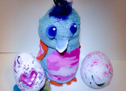 How To Make Your Own DIY Hatchimals and Hatchimal Eggs