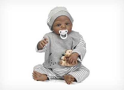 NCol African American Reborn Doll