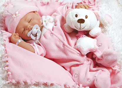 Paradise Galleries Baby Carly Reborn Baby Doll