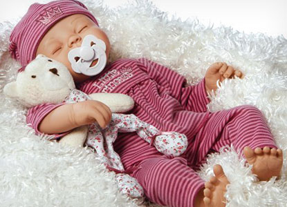 Paradise Galleries Little Princess Reborn Baby Doll