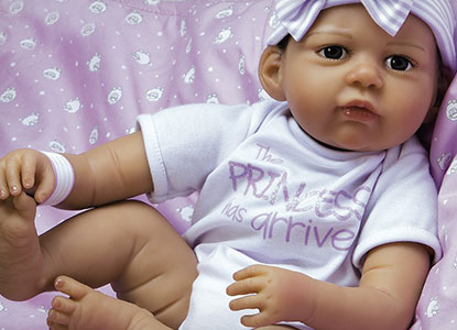 Paradise Galleries The Princess Has Arrived Girl Reborn Doll