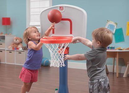 Step2 Shootin' Hoops Junior Basketball Set