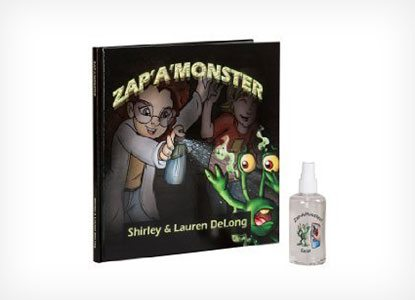 Zap A Monster Book and Zap A Monster Spray Gift Set