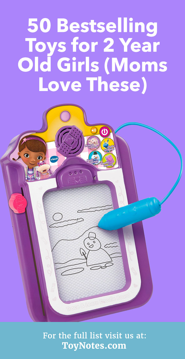 50 Bestselling Toys for 2 Year Old Girls (Moms Love These) - Toy Notes