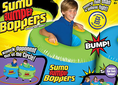 Big Time Toys Sumo Bumper Bopper