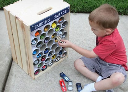 Diy Car Parking Garage Storage