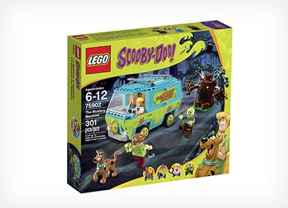 LEGO Scooby-Doo Mystery Machine Building Kit