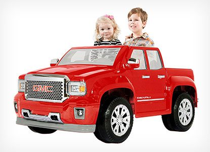 Rollplay GMC Sierra Denali Battery-Powered Ride-On