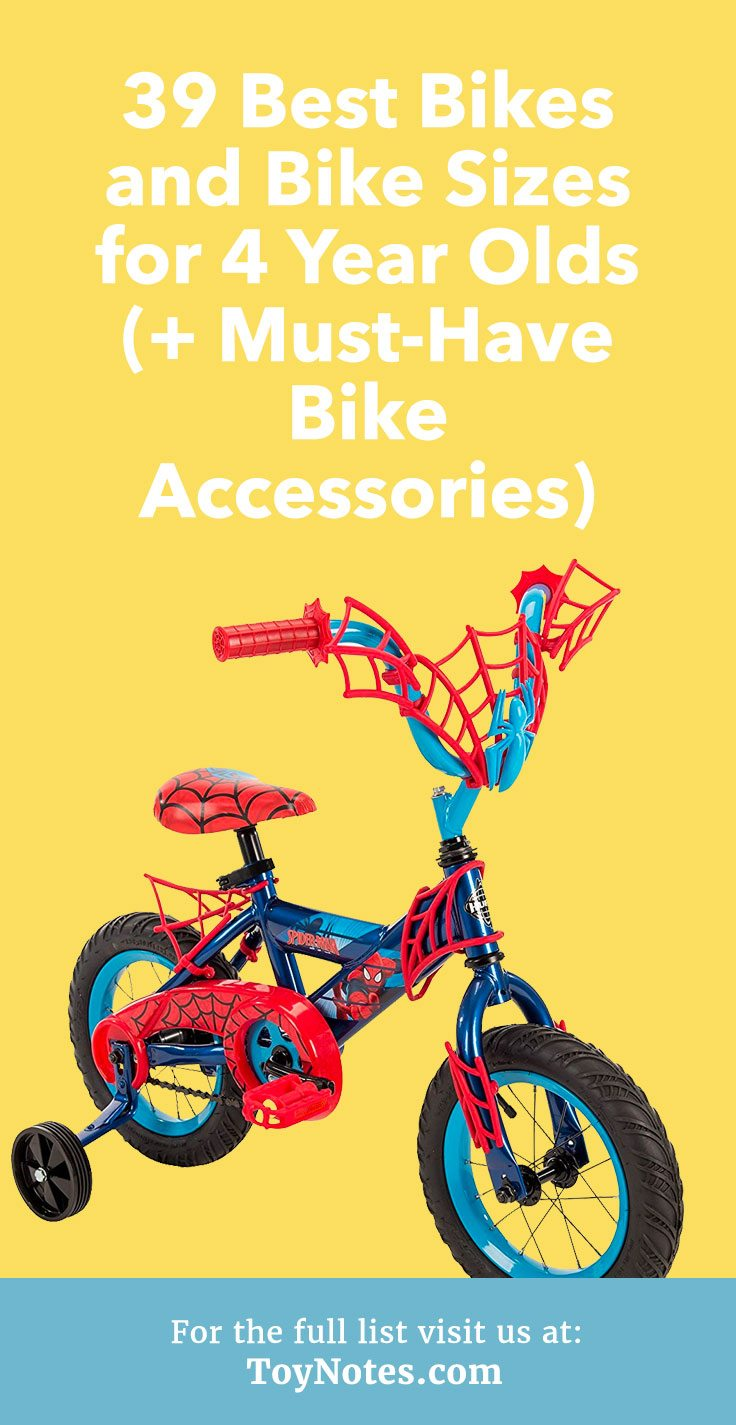 Treat your child to a new set of wheels with this list of the 39 best accessories and bikes for 4 year olds.