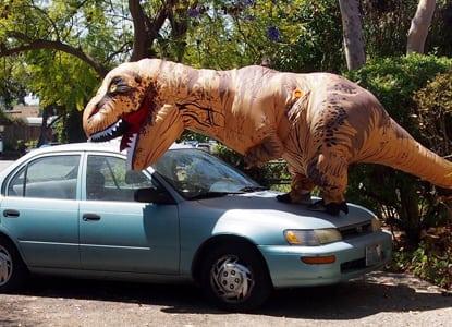The Best Dinosaur Costume Ever