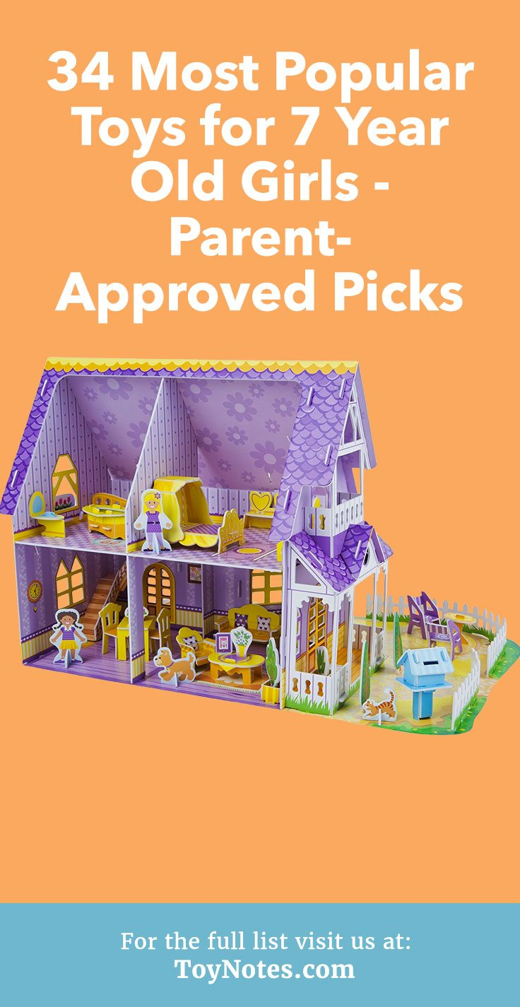 34 Most Popular Toys For 7 Year Old Girls Parent Approved Picks