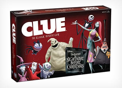 Clue: Tim Burtons The Nightmare Before Christmas