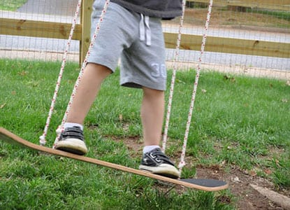 Diy 20 Minute Skateboard Swing