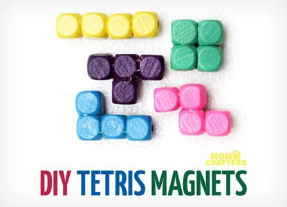 Diy Tetris Magnets