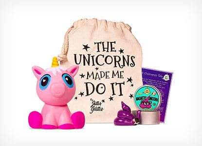 Magnetic Putty Unicorn Poop Stress Relief Kit