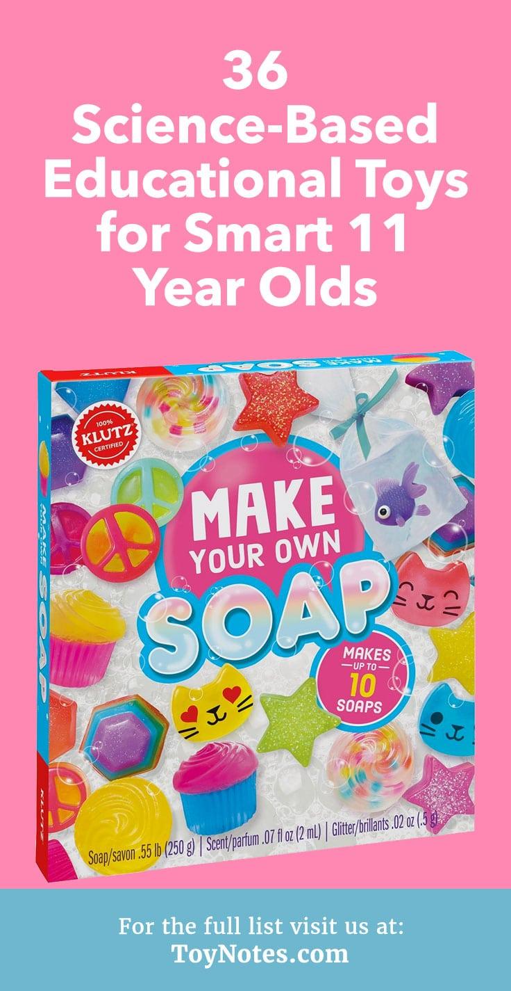 Klutz Children Make Your Own Soap Science Kit DIY Kids Girls Boys Craft 10 Soaps