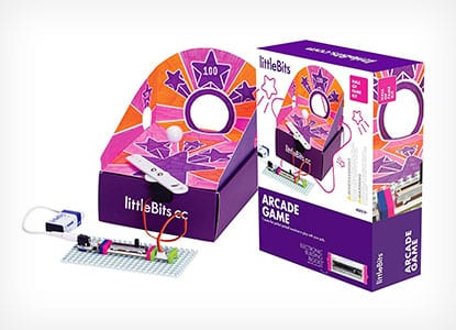 littleBits Starter Kit Hall of Fame Arcade Game