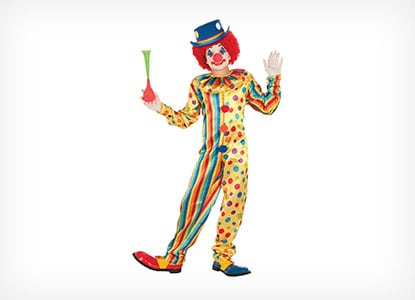 Forum Novelties Spots The Clown Costume