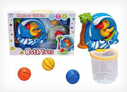 Shoot & Splash Basketball Hoop