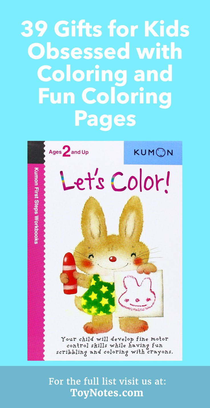 39 Gifts for Kids Obsessed with Coloring and Fun Coloring Pages ...