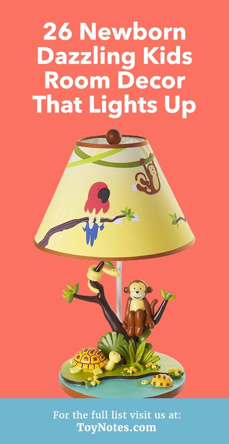 26 Newborn Dazzling Kids Room Decor That Lights Up - Toy Notes