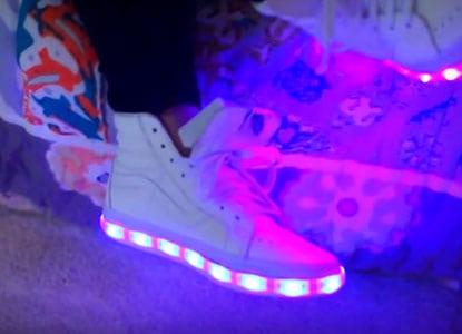 Diy Light Up Shoes Video Tutorial Good Ideas
