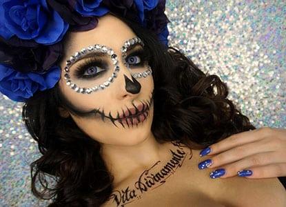 Diy Sugar Skull Makeup Tutorial