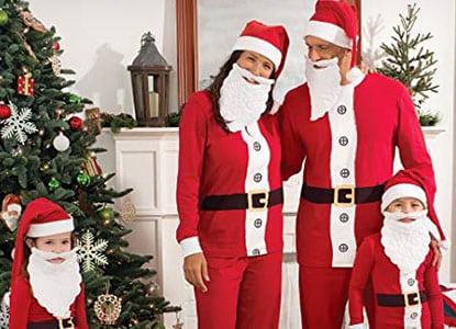 pajamagram santa suit matching family pajama set