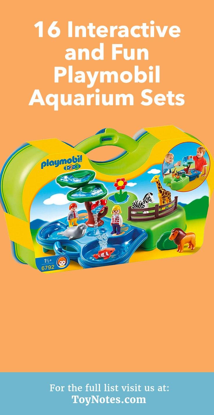 playmobil aquarium sets