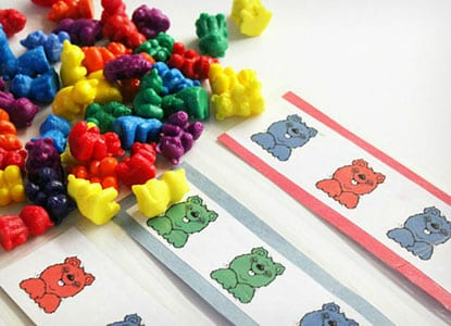 Printable Bear Math Patterns