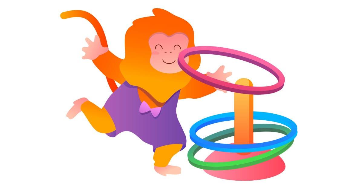 gymnastics toys