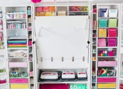 Craft Storage Desks