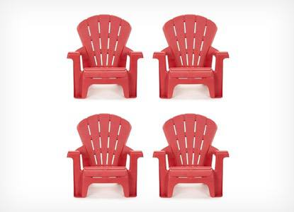Little Tikes Garden Chairs