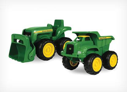 TOMY John Deere Sandbox Vehicles